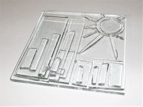 504 Creating  Texture in Fused Glass - Sunday 23rd February 2020, 9:30am -