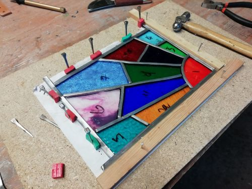 510 Introduction to Leaded Stained Glass - 1 Day Course, Saturday 14th Marc