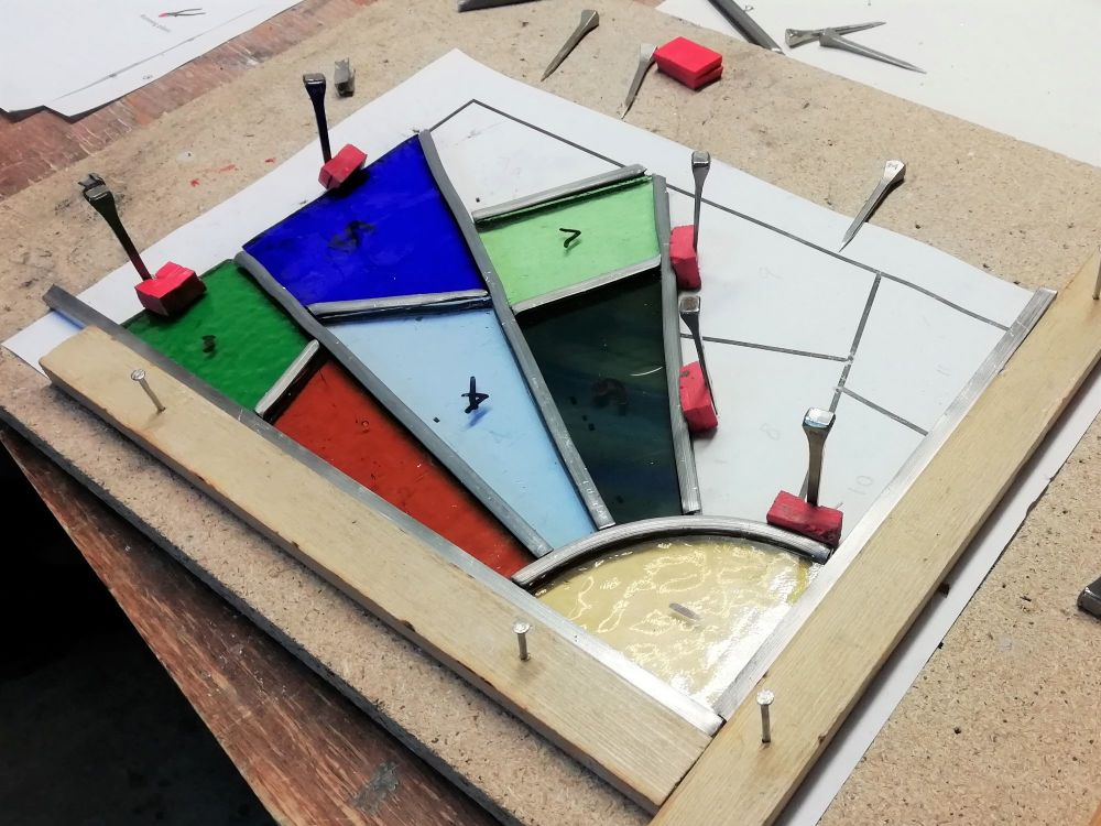 560 Introduction to Leaded Stained Glass - Saturday 19th December 2020, 9:3