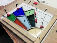 560 Introduction to Leaded Stained Glass - Saturday 19th December 2020, 9:30am - 5pm