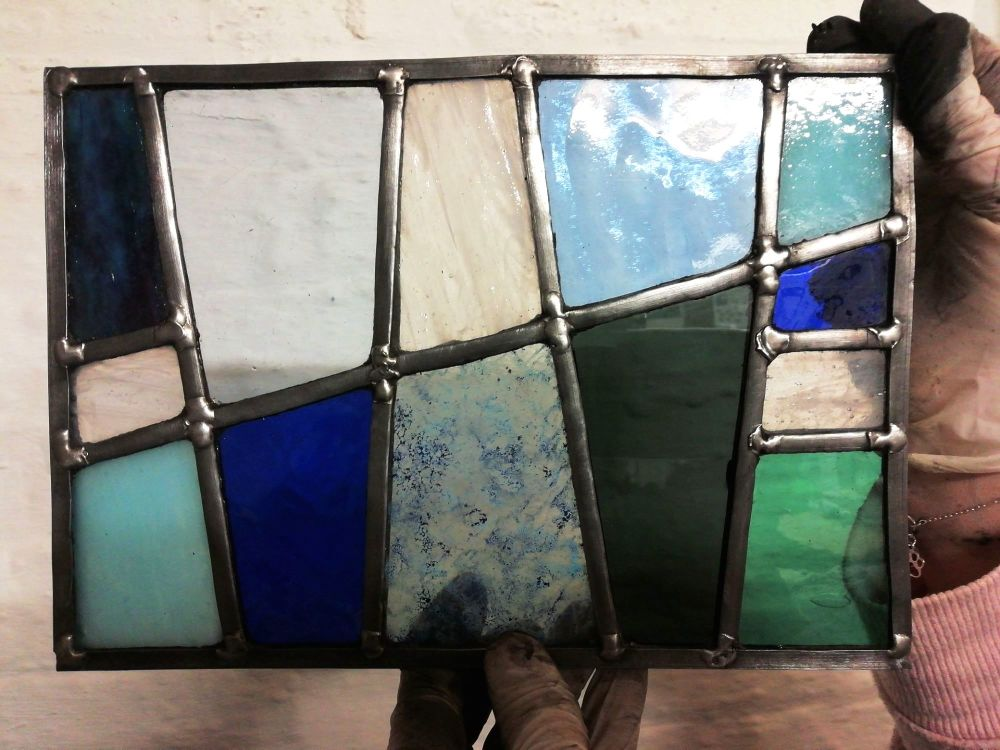 570 Introduction to Leaded Stained Glass - 1 Day Course - Saturday 10th Jul