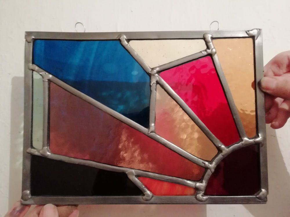 568 Introduction to Leaded Stained Glass - 1 Day Course - Saturday 3rd July