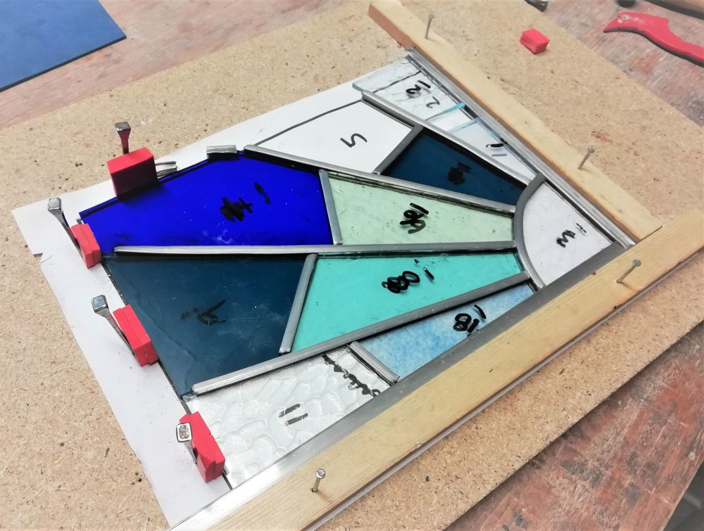 571 Introduction to Leaded Stained Glass - 1 Day Course - Sunday 11th July