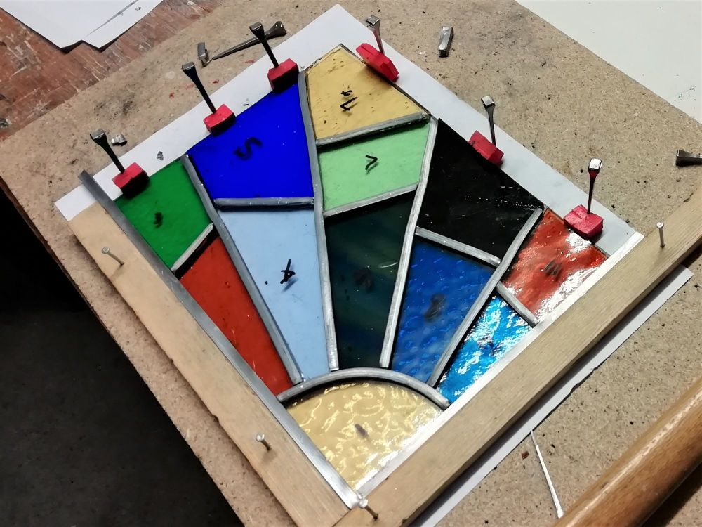 573b Introduction to Leaded Stained Glass - 1 Day Course - Thursday 29th Ju