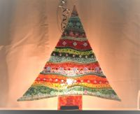 624 Make A Standing Fused Glass Christmas Tree - Saturday 4th December 2021, 9:30am - 12:30