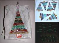 Fused Glass Glow in the Dark Christmas Tree