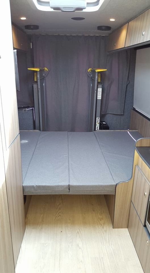 Disabled Wheelchair Camper Conversion Motorhome Self Build
