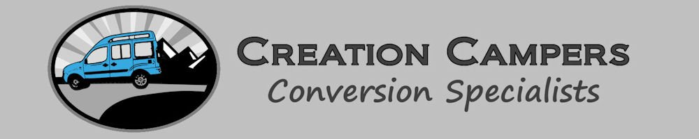 Creation Campers, site logo.