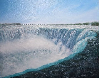 Land and waterscape paintings