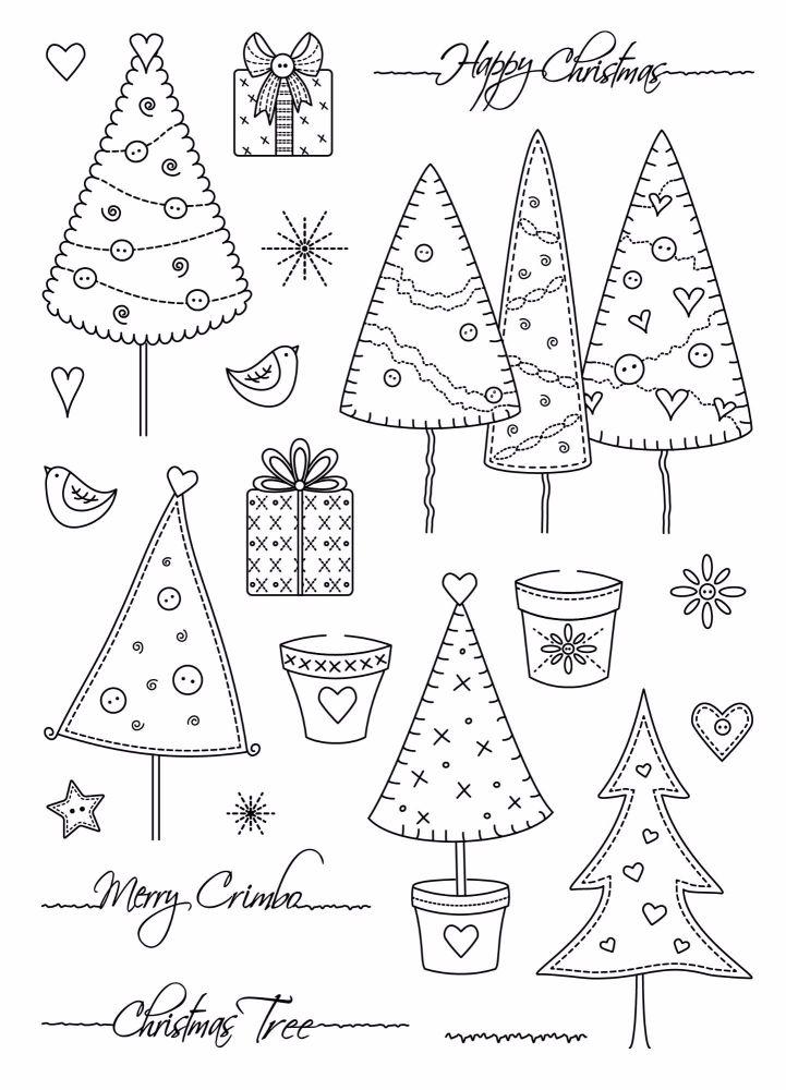 A5 Christmas Trees
