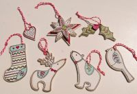 MDF Christmas Ornaments