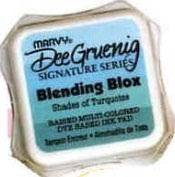 Marvy Blending Blox - Shades of Turquoise