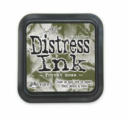 Tim Holtz Distress Inkpad - Forest Moss