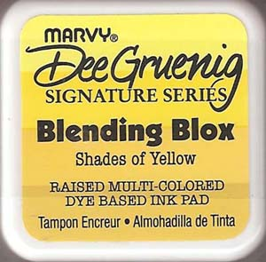 Marvy Blending Blox - Shades of Yellow