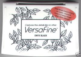 Versafine - onyx black