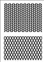 A6 Knitted Backgrounds
