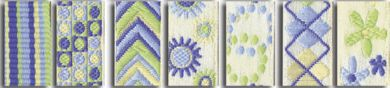 Maya Road Inspiration ribbon pack - blue / green