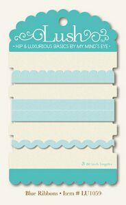 My Mind's Eye ribbon pack - blue
