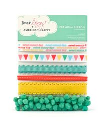 Dear Lizzy ribbon pack - lively
