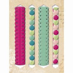 K & Co - stitched felt ribbons - Margo