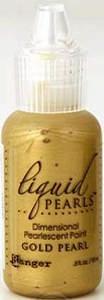Liquid Pearls - gold pearl