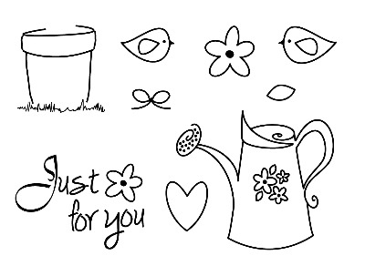 Just for you mini stamp set