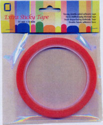 Extra Sticky Double Sided Tape 6mm