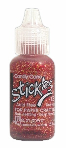 Stickles - candy cane
