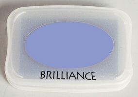 Brilliance Ink Pad Pearlescent Lavender