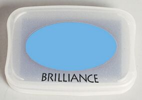 Brilliance Ink Pad Sky Blue