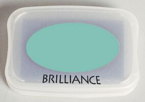Brilliance Ink Pad Pearlescent Jade