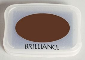 Brilliance Ink Pad Coffee Bean