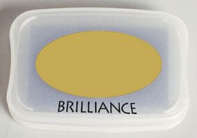 Brilliance Ink Pad Galaxy Gold