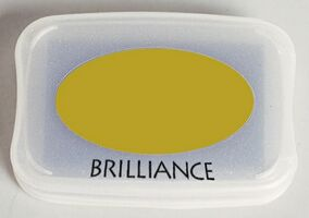 Brilliance Ink Pad Pearlescent Olive