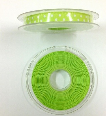 Crafty Impressions Ribbon 20m - lime