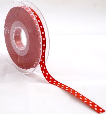 Crafty Impressions Ribbon 20m - red