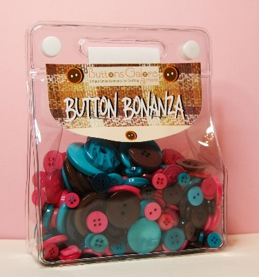 Button Bonanza - Juke Box - 1/2 Lb 225g Button Assortment