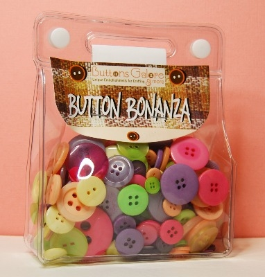 Button Bonanza - Cancy Store - 1/2 Lb 225g Button Assortment