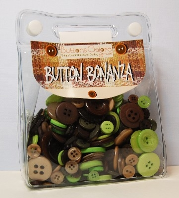 Button Bonanza - Campy - 1/2 Lb 225g Button Assortment