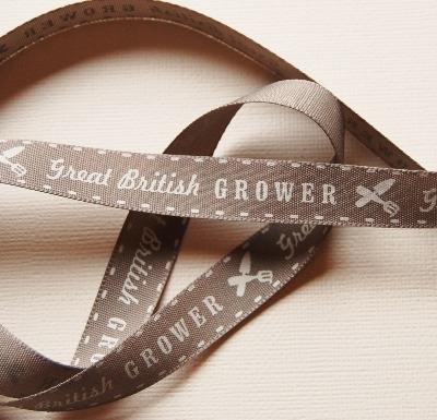 Berisfords Great British Grower ribbon - 15mm