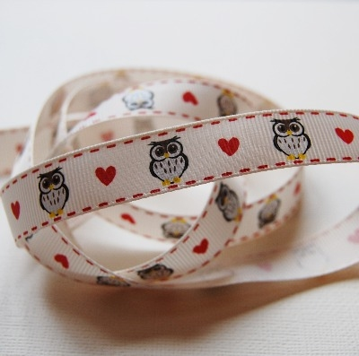 Berties Bows Owl Print - 16mm