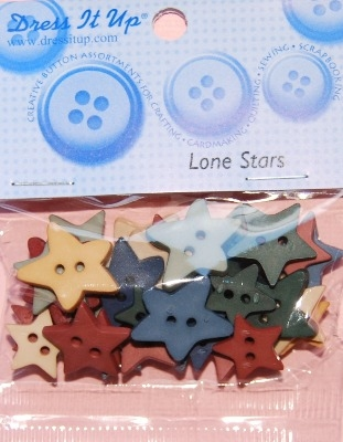 Lone Star - Dress it up buttons