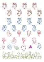 A5 Owl Prints