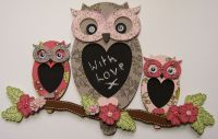 MDF Trio of Owls