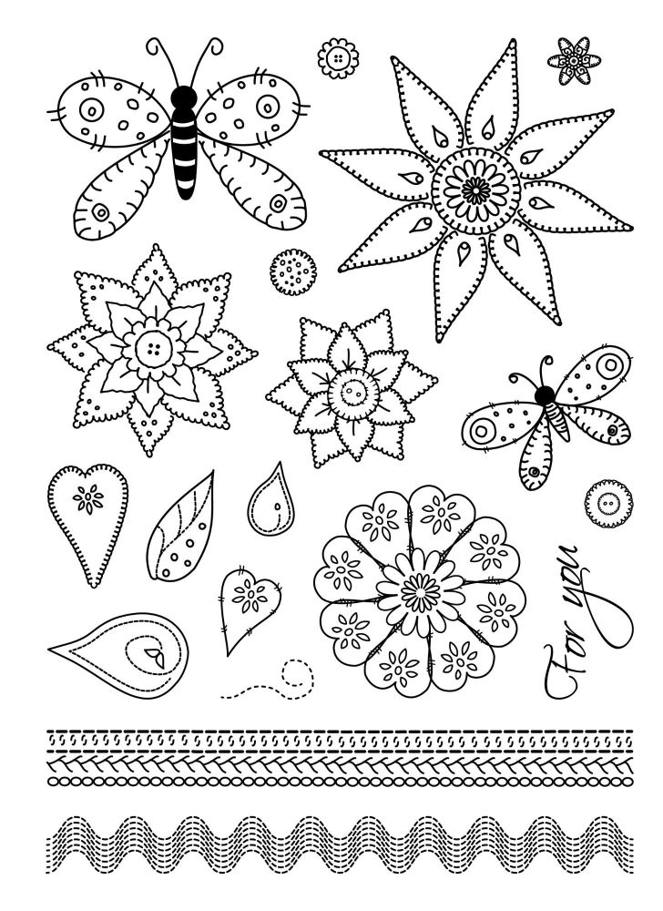 A5 Caroline's Doodles
