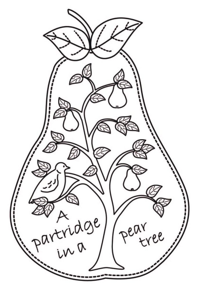 A7 Partridge in a Pear Tree