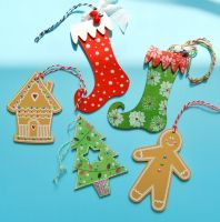 MDF Mixed Christmas Shapes