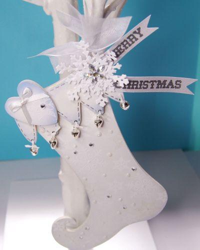 MDF Christmas Stocking Single