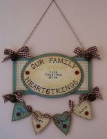 MDF Hanging Plaque