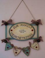 MDF Hanging Plaque